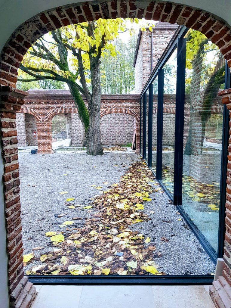 Herfst in de patio